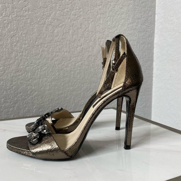 Sexy Zara metallic sandals 39 EU